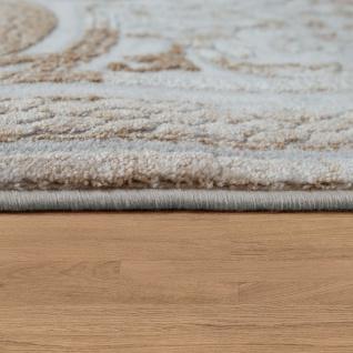 Wohnzimmer-Teppich Im Barock-Design Mit klassischen Vintage-Ornamenten In Beige - Vorschau 2