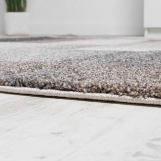 Teppich Meliert Modern Webteppich Hochwertig Kariert Beige Creme Grau - Vorschau 2