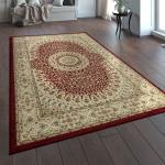 Orientteppich Traditionell Klassische Optik Persisch Ornamente Beige Rot