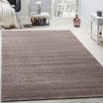 Designer Teppich Frieze Teppiche Luxuriös Schimmer Glanzeffekt In Uni Beige