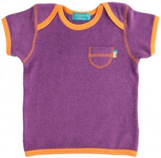 Tragwerk T-Shirt Jul Frottee Feige 56/62 Baby Mädchen Junge Kurzarm Frottee