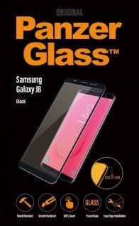 PanzerGlass Glas Display-Folie Schutz-Folie Panzer für Samsung Galaxy J8 2018