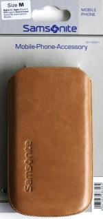 Samsonite Handy-Tasche Toledo Gr.M beige Köchertasche Etui Case Hülle Smartphone