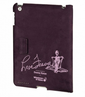 Whatever it Takes Dona Karan Case Tasche Ständer für Apple iPad 3/4 3G/4G Hülle - Vorschau 1