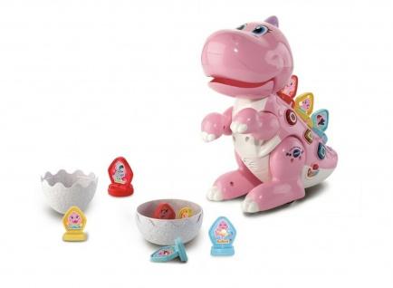 VTech Baby Codi Mein Lern-Dino Lern-Spielzeug Dinosaurier Figur Motorik Musik
