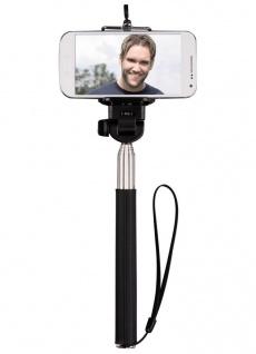 Hama 2in1 Selfie-Stick Arm Stange Teleskob-Stab Stick Monopod für Handy Kamera