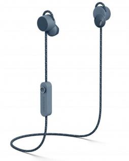 Urbanears Jakan Bluetooth In-Ear Headset Blau Kopfhörer Mikrofon + Fernbedienung