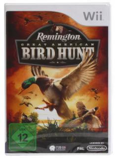 Nintendo Wii Remington Great American Bird Hunt Jagt-Spiel Vogel-Jagt Hunting