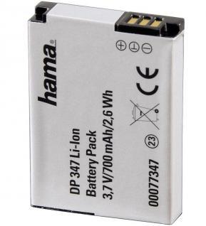 Hama Li-Ion Akku Batterie Ersatzakku für Samsung SLB-10A L100 L110 L200 L310W ..