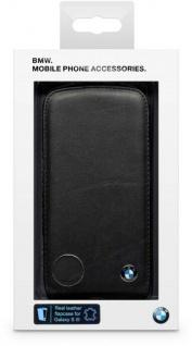 BMW Flip-Cover Klapp-Tasche Schutz-Hülle Case Etui für Samsung Galaxy S3 SIII