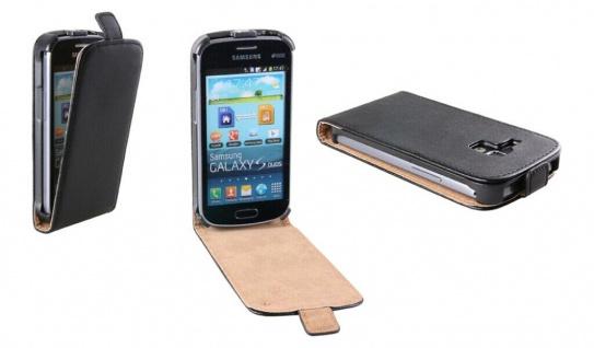 Patona Slim Flip Klapp-Tasche Schutz-Hülle Case für Samsung S7562 Galaxy S Duos - Vorschau 1