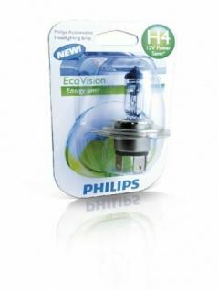 Philips H4 Halogen EcoVision 12V Auto-Lampe Auto-Birne Glüh-Lampe Glüh-Birne KFZ - Vorschau
