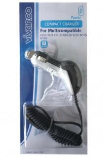 Vivanco Kfz Ladekabel Mini-USB Ladegerät für Motorola RAZR V3 V3i V6 PEBL RIZR