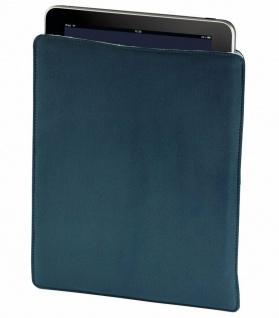 Hama Tasche Case petrol für Apple iPad 4/3/2 Schutz-Hülle Etui Beutel Bag Cover