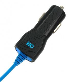 iGo Kfz Lade-Kabel Micro-USB Adapter Auto Ladegerät PKW Lader Charger Smartphone