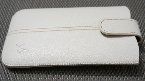 DOLCE VITA Leder-Tasche Etui Hülle Case für BlackBerry Torch 9860 9850 9810 9800