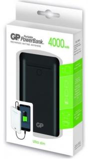 GP 4000mAh Power-Bank Externer Akku USB Ladegerät für Universal Handy Smartphone - Vorschau 1