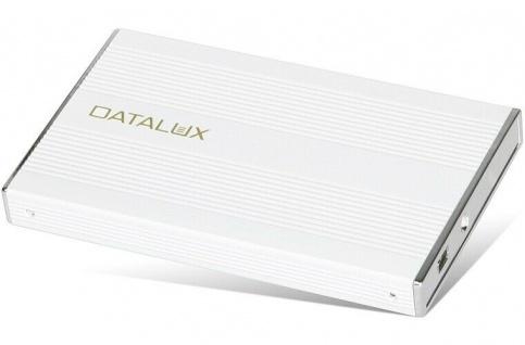 "Datalux USB ALU 2, 5"" Festplattengehäuse SATA SSD HDD Gehäuse Case PC Festplatte"