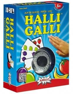 Amigo Halli Galli Auf die Glocke fertig los! Kartenspiel Kinder-Spiel Familie