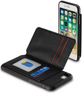 Hama Cover Fächer Karten Ausweis Case Hülle Schale für Apple iPhone 7 8 SE 2020