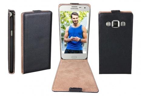 Patona Slim Flip-Cover Klapp-Tasche Schutz-Hülle Case für Samsung Galaxy E7