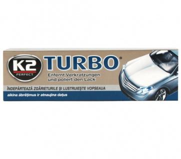K2 Tempo Turbo Wachs-Paste Hartwachs Polir-Paste Polier Lack-Politur +NanoTech