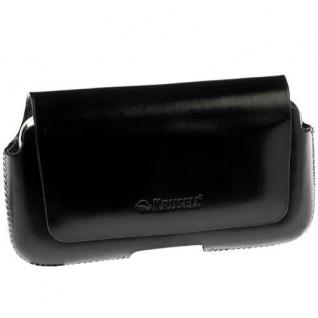 Krusell Hector Mobile Case M black Leder-Tasche Etui Flap Bag Hülle