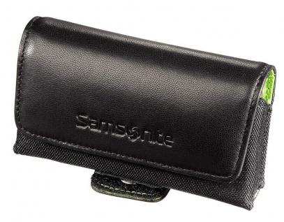 Samsonite Lucca Leder Handy-Tasche Gürteltasche Quertasche Etui Hülle Case Bag