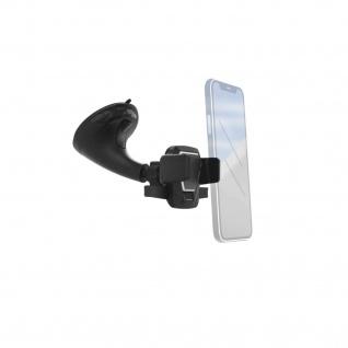 Hama Universal Klemm-Halterung 5, 5-8, 5cm Auto Windschutzscheibe für Smartphones
