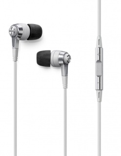 Denon AH-C621R In-Ear Headset Kopfhörer Weiß Ohrhörer Fernbedienung Mikrofon