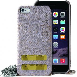 Puro Glam Cover Handy-Kette Case Schutz-Hülle Tasche für iPhone 7 8 SE 2020