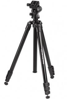 Hama Dreibein-Stativ Delta Pro180cm 3D 3-Wege-Kopf Kamera-Stativ Foto-Stativ