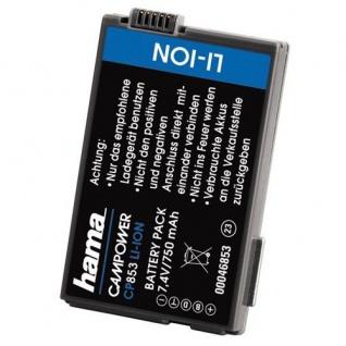 Hama Li-Ion Akku Batterie für Canon BP-308 BP-315 DC10 DC20 DC21 DC40 DC50 DC95
