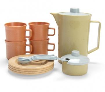 Dantoy Bio Kaffeeservice-Set 17 tlg. Kinder-Spielzeug Bio-Kunststoff Geschenk