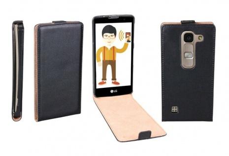 Patona Slim Flip-Cover Klapp-Tasche Schutz-Hülle Cover Case für LG Spirit