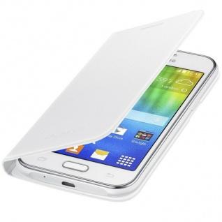 Original Samsung Flip-Cover Hard-Case Klapp-Tasche Schutz-Hülle für Galaxy J1