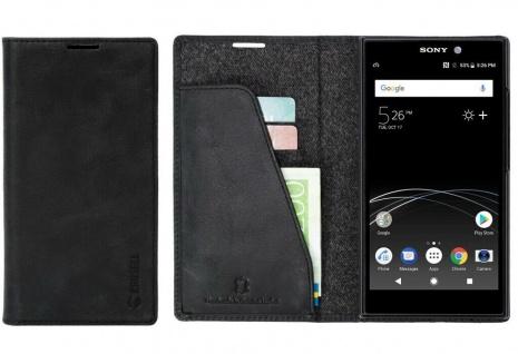 Krusell Folio Wallet Tasche Smart Schutz-Hülle Case Cover Bag für Sony Xperia L2