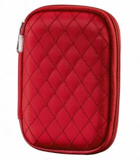 Hama Speicherkarten-Tasche Case Etui Rot für SD Memory-Stick Pro Duo M2 xD CF SM