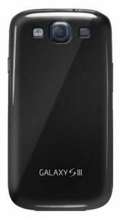 Samsung Soft Cover Schutz-Hülle Case Tasche schwarz für Samsung Galaxy S3 SIII