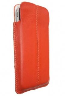 Hama Leder-Tasche Case Etui Schutz-Hülle für Handy MP4 MP3-Player iPod Walkman