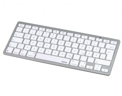Hama Bluetooth Tastatur BT Keyboard für Apple iPhone XS XR X 8 7 6s 6 SE / Plus - Vorschau 1