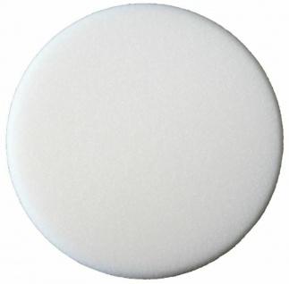 Sonax Polierschwamm weiß 160mm Medium Weich Polierpad Schwamm für Poliermaschine