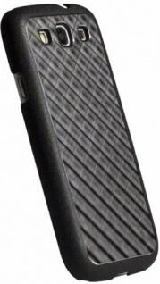 Krusell Alu Bio-Cover Case Schutz-Hülle Hard-Cover für Samsung Galaxy S3 SIII