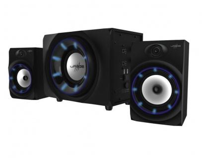 uRage Sound-System SoundZ 2.1 Essential Lautsprecher Bluetooth PC Konsole TV