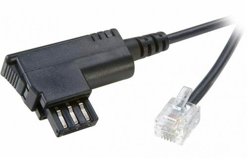 Vivanco 10m Telefon-Kabel TAE-F RJ11 US-Norm Anschlußkabel für Siemens Gigaset