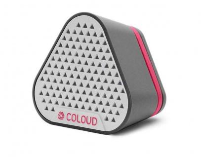 COLOUD Mini Lautsprecher Bang Gray Grau Portable Aktiv Speaker Box 3, 5mm Klinke