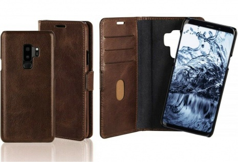 Pazzimo Booklet + Cover Smart Case Tasche Hülle für Samsung Galaxy S9+ S9 Plus