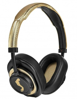 Master & Dynamic MW50+ Michael Jackson Wireless Headset Gold Bluetooth Kopfhörer