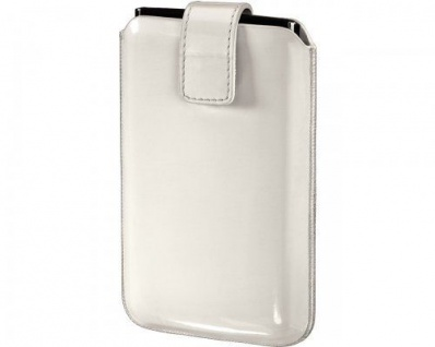 Hama Lack-Leder Handy-Tasche Case Etui Hülle Bag für Apple iPhone 5S 5C 5 etc
