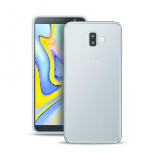 Puro Ultra Slim 0.3 Nude Cover TPU Case Schutz-Hülle für Samsung Galaxy J6+